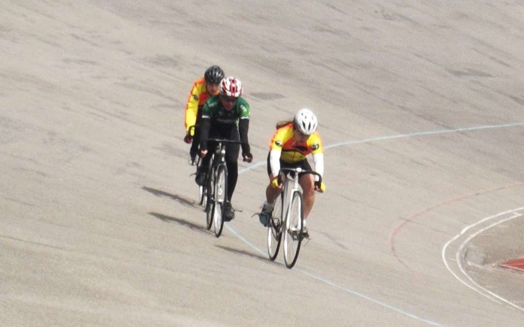 Lia's 1st Time at Welwyn Velodrome