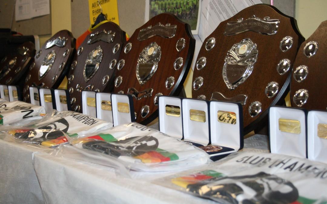 2015 Club Championship Winners